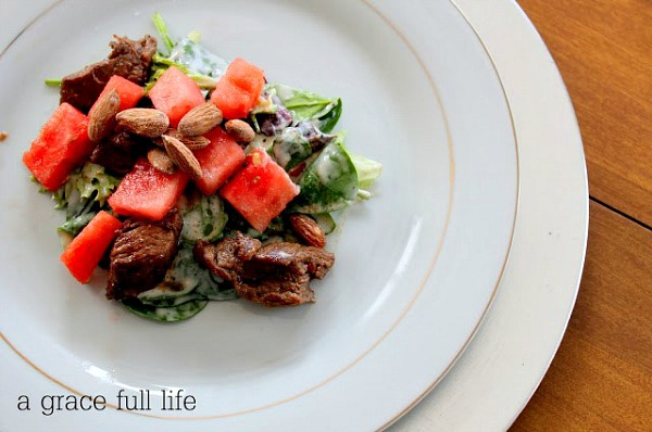 Steak Salad from A Gracefull Life