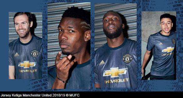 Jersey Ketiga Manchester United  Musim 2018-2019