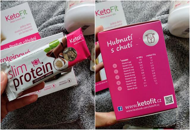 proteinove tycinky, ketofit, hubnuti s ketofit