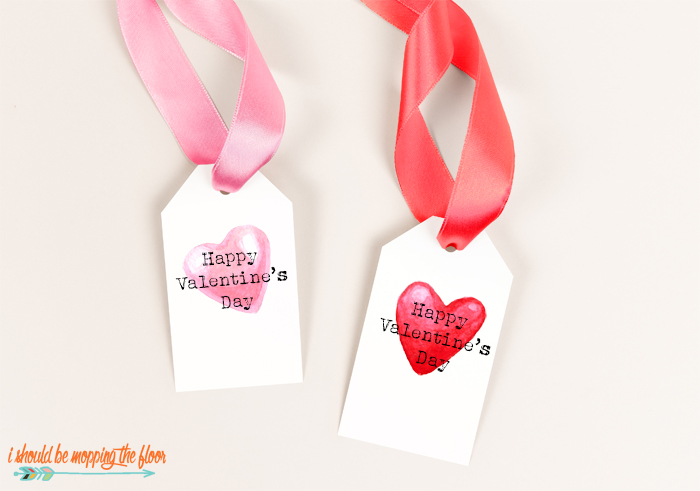 Free Printable Valentine Tags