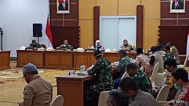 Gubernur dan Forkopimda Tetapkan Masa Himbauan PSBB Tiga Hari