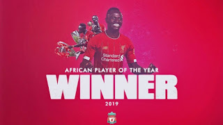 Mane beats Salah & Mahrez to win his first African Player of the Year