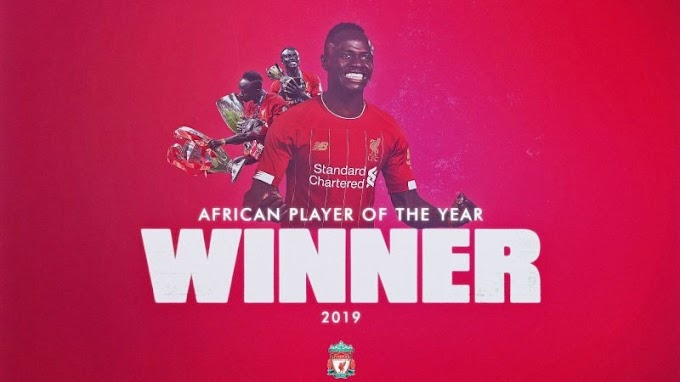 OFFICIAL: Mane beats Salah & Mahrez to win his first African Player of the Year