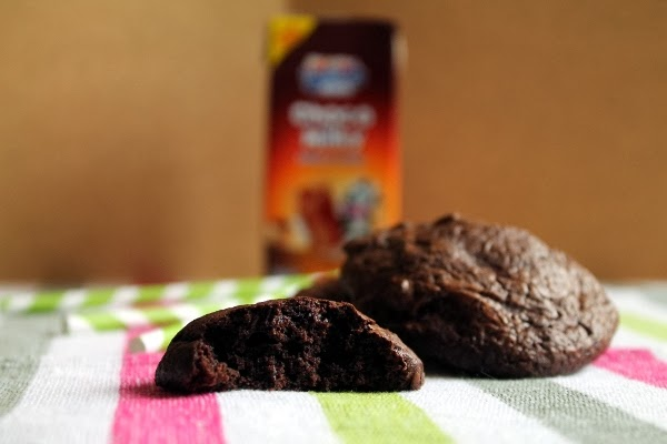 Brownie cookies de chocolate Lindt