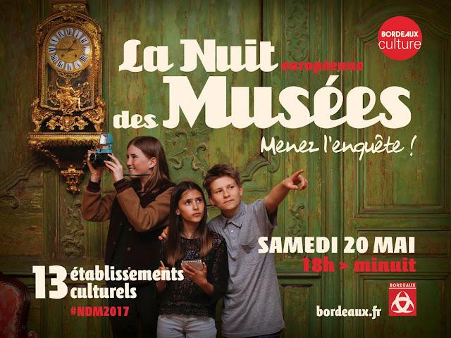 La Nuit européenne des musées + le programme bordelais