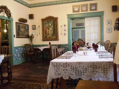 Dining room at Strasburg Hotel