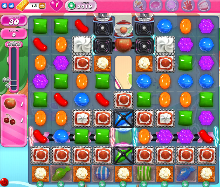 Candy Crush Saga level 2419
