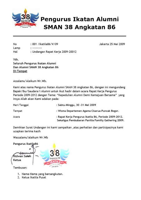 Contoh Surat Undangan Rapat (via: contohsuratundangan99.blogspot.com)