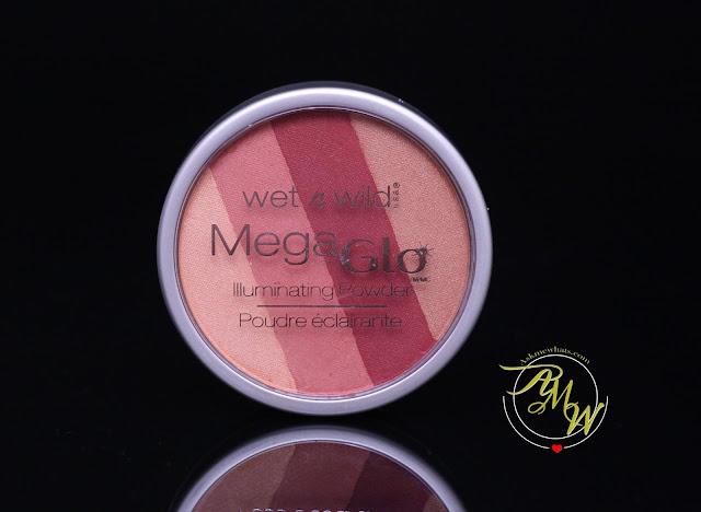 a photo of Wet n Wild Mega Glo Illuminating Powder shade Strike-A-Pose-Rose