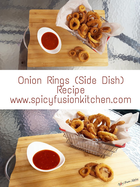 onion rings, onion ring pictures, onion rings recipe, onion rings video, cooking video, youtuber, food blog, food, food blogger, foodie, pinterest, pinterest food, food pictures, spicy food, spicyfusionkitchen, cooking, video, recipe video, seafood, side dish, side dish pictures, side dish recipe, vegan, vegan food, vegan recipe, vegan side dish, food photography, food stylist, food plating