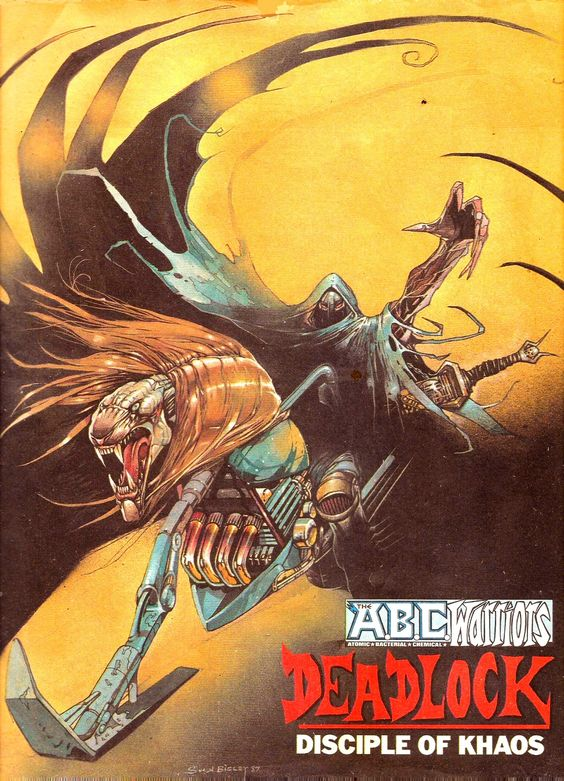 Deadlock, Disciple of Khaos - Simon Bisley 1987