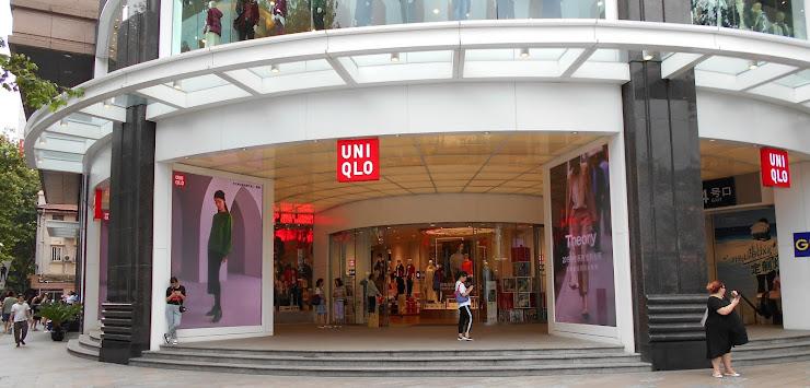 上海のユニクロ旗艦店