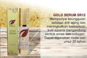 Serum Gold SR12 Skincare Anti Aging dan Mencerahkan Kulit Wajah