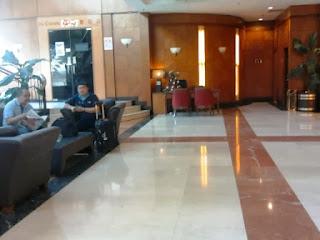 lobby crystal crown hotel petaling jaya