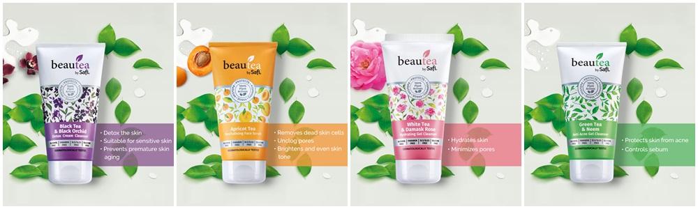 Safi Beautea Dengan 100% Ekstrak Premium Daun Teh Produk Terbaharu Dari Safi Dengan 4 Variasi