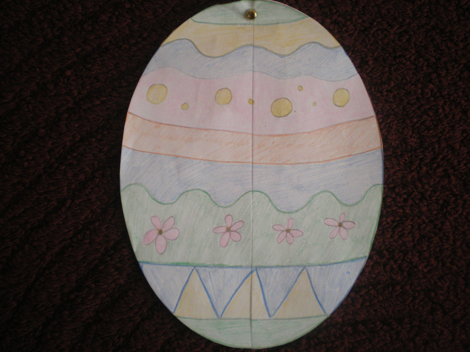 Stepping Into First Grade Easy Easter Craft And Super Big