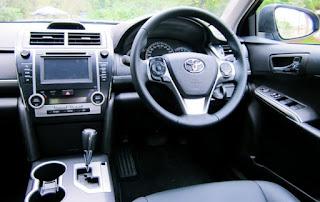 2015 Toyota Camry Atara S Hybrid Review Interior