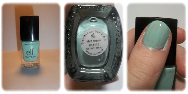 Swatch Vernis à Ongles Teinte Mint Cream - elf