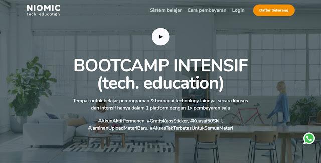 Daftar Coding Bootcamp Terbaik, sekolah coding,