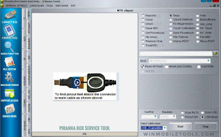 Piranha Box Service Tool V1.55 Latest Setup Free Download