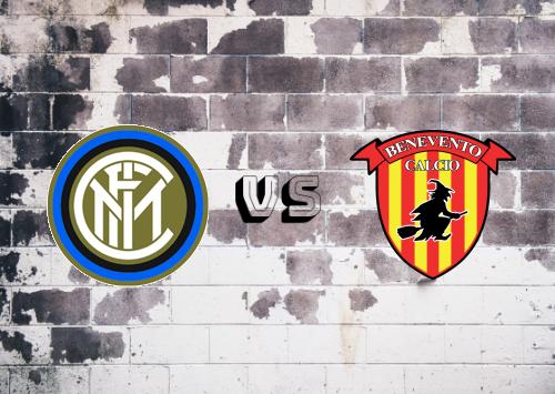 Internazionale vs Benevento  Resumen y Partido Completo