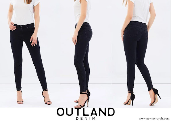 Meghan Markle wore OUTLAND DENIM Harriet Jeans