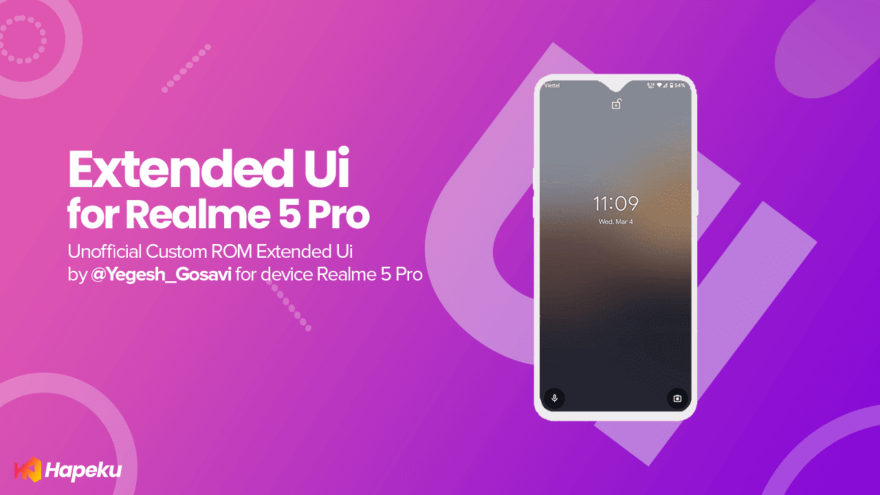 ROM Extended Ui Unofficial Realme 5 Pro [RMX1971]