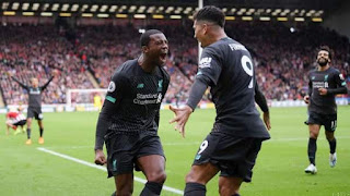 Highlight: Liverpool Wins 16th Conecutive Match After Henderson Howler