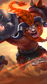 Minotaur Son of Minos Heroes Tank Support of Skins V1