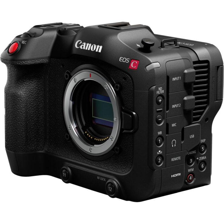 Цифровая кинокамера Canon Cinema EOS C70