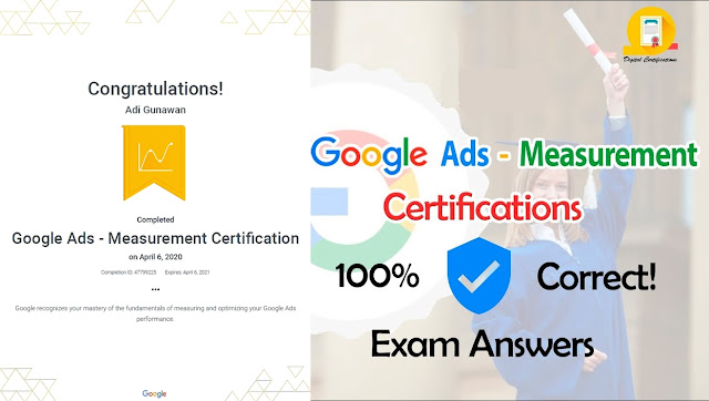 Jawaban Google Ads Measurement Certification
