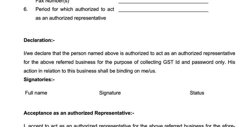 registration forms as per gst rules 2017