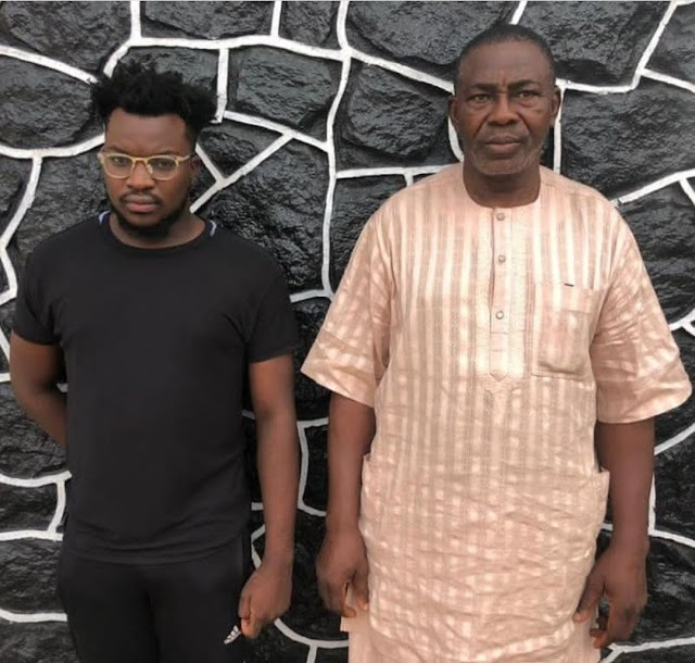 """Father and Son have been arrested by """"EFCC"""" aover alleged Internet fraud"""