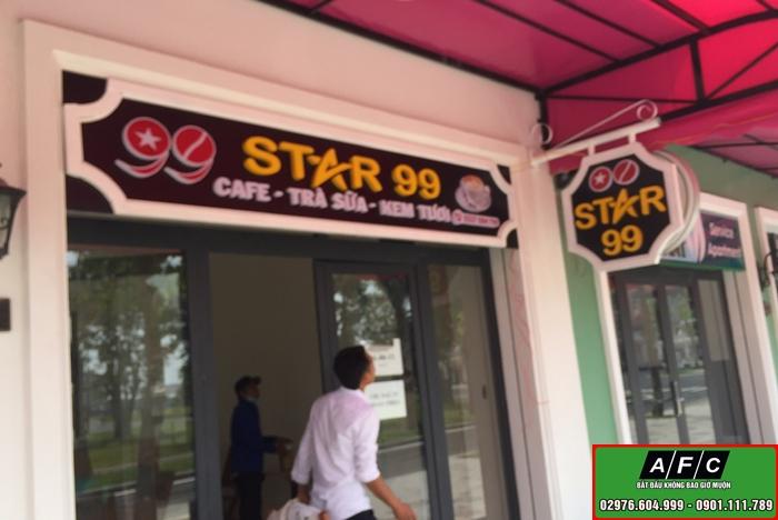 Thi công bảng hiệu kinh doanh Star 99 đẹp tại Phú Quốc