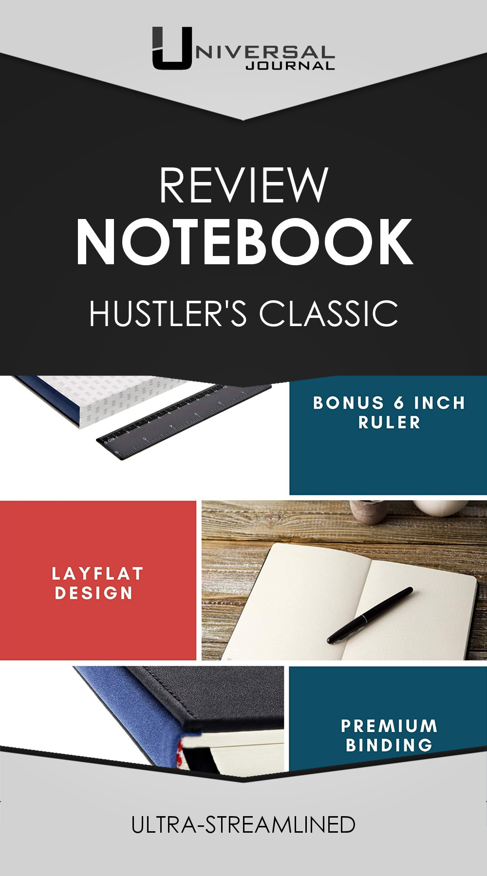 Product review: Hustler's Classic Notebook