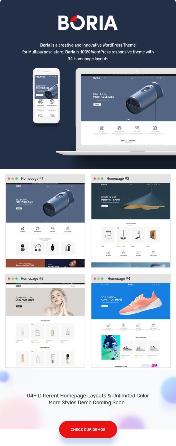 Multipurpose WooCommerce WordPress Template
