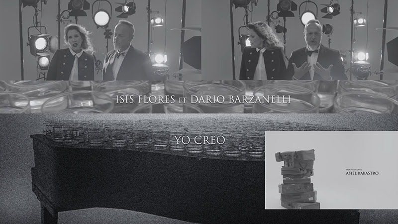 Isis Flores y Darío Balzanelli - ¨Yo creo¨ - Videoclip - Dirección: Asiel Babastro. Portal Del Vídeo Clip Cubano
