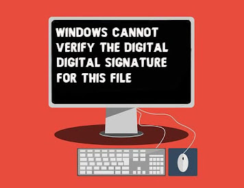 Fix Windows Cannot Verify the Digital Signature for this File   Stop code 0xc0000428