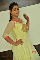 Teja Reddy in Anarkali Dress at Javed Habib Salon launch ~  Exclusive Galleries 030.jpg