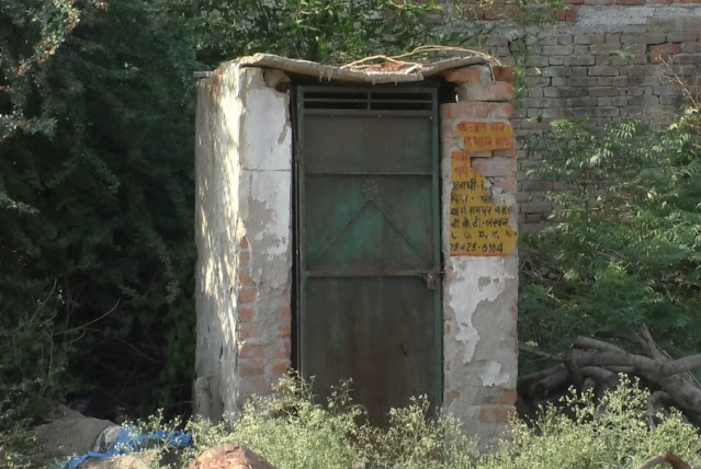 Situation of toilet in Bakshi ka Talab Area