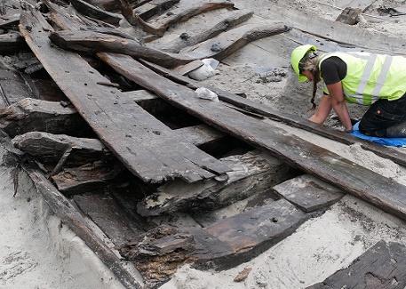 Archaeologists make sensational ship find in Denmark