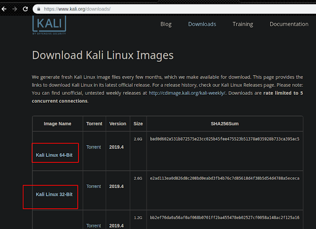 Download Kali Linux 2019.4 ISO