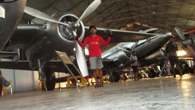 Foto di depan pesawat