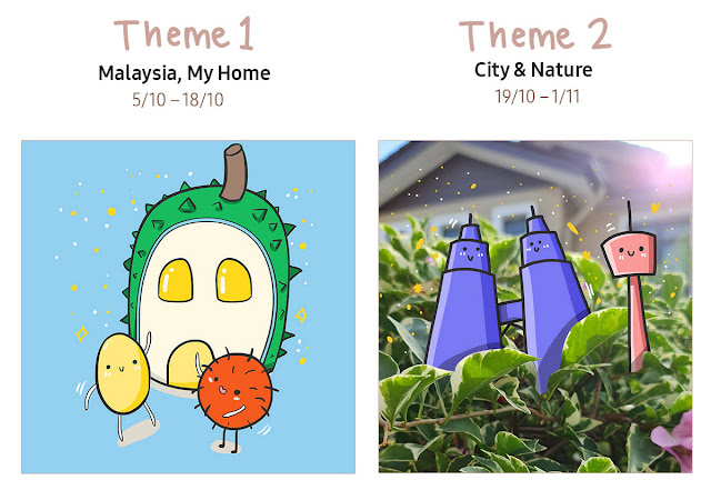 Samsung Contest win Galaxy Note20 Ultra 5G, Galaxy Buds Live  doodle Malaysia prizes