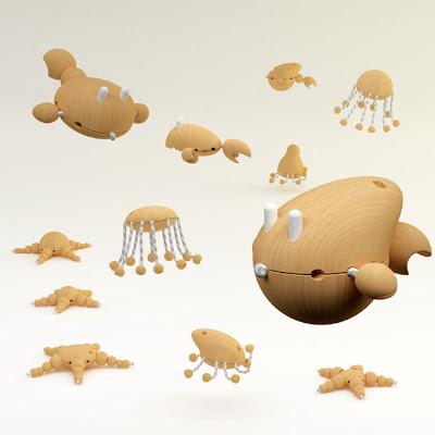 Juguetes de madera muy creativos