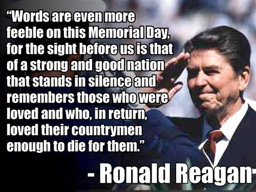 Meaningful Veterans Day Quotes From Ronald Reagan