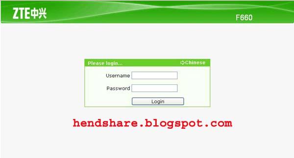 Cara Setting Modem Indihome Zte F660 Fiber Optik - HendShare