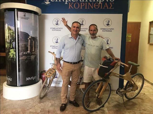 Ο Πωλ Ευμορφίδης υποστηρίζει τις Περιφερειακές Ενότητες της Πελοποννήσου
