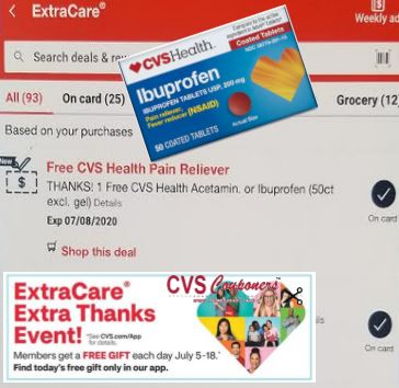 CVS Extracare Extra Thanks Event!