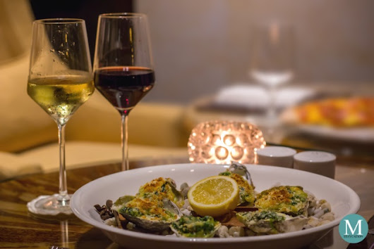Wine and Oyster Night at the Fairmont Lounge | Fairmont Makati